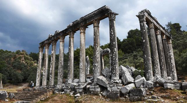 Euromos Antik Kentinde UNESCO için özel çalışma yürütülüyor
