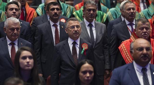 Cumhurbaşkanı Yardımcısı Fuat Oktaydan adli yıl açılış mesajı