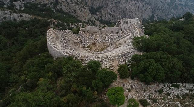 Doğa ile tarihi buluşturan kent: Termessos