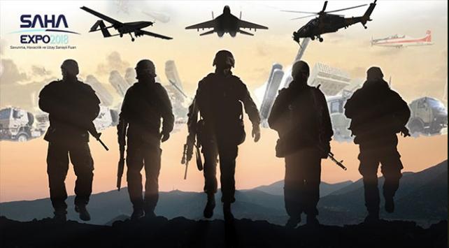 Savunma sanayii SAHA EXPOda buluşuyor