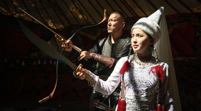 """Vandaki Kırgızların ekmek kapısı """"kültürleri"""""""
