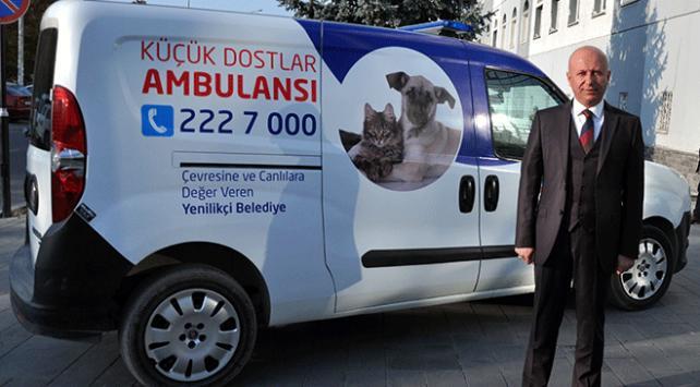Küçük dostlar ambulansı bin 252 can kurtardı