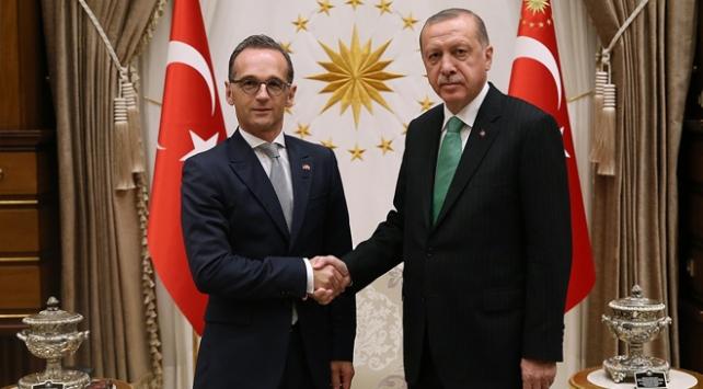 Cumhurbaşkanı Erdoğan Almanya Dışişleri Bakanını kabul etti