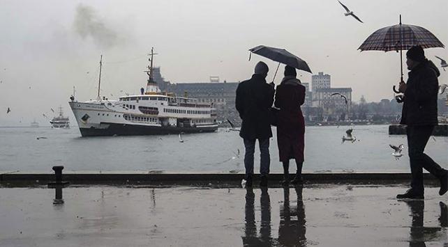 Marmarada kuvvetli yağış bekleniyor