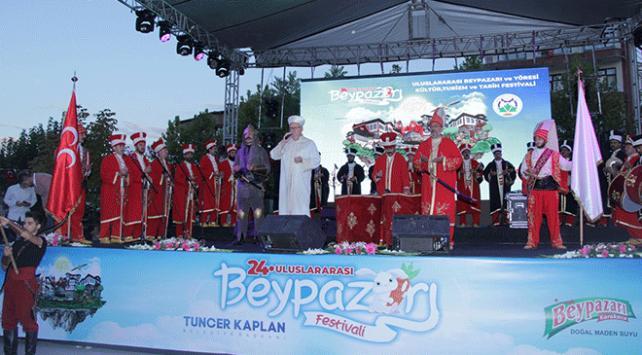 Beypazarında festival coşkusu başladı