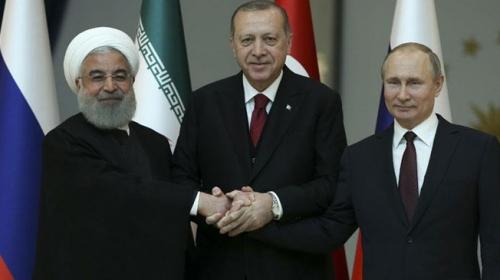 Üçlü Suriye zirvesi başlıyor