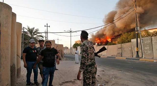 Basradaki protestolar nedeniyle Umm Kasr Limanı kapatıldı