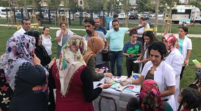 Sağlıklı Yaşam Aracı Diyarbakırda halkla buluştu