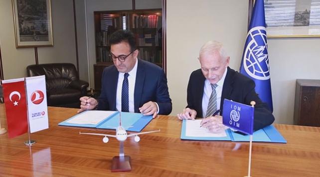THY ve Uluslararası Göç Örgütü arasında ortaklık anlaşması