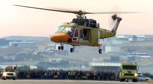 Özgün helikopter T625te yerli sanayi imzası
