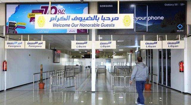Libyadaki Mitiga Havalimanında uçuşlar durdu