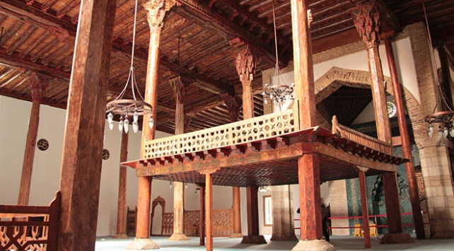 "Orta Asyadan Anadoluya taşınan kültürel miras ""ahşap camiler"""