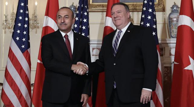 Dışişleri Bakanı Çavuşoğlu, ABDli mevkidaşı Pompeo ile görüştü