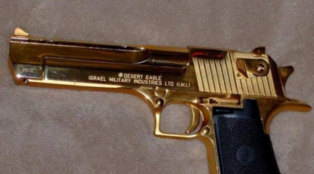 Saddamın Altın Silahları