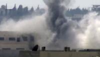 Suriye'de Muhaliflerin Üzerine Bomba Yağdı