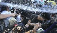 Hong Kong'da Jintao Gerilimi