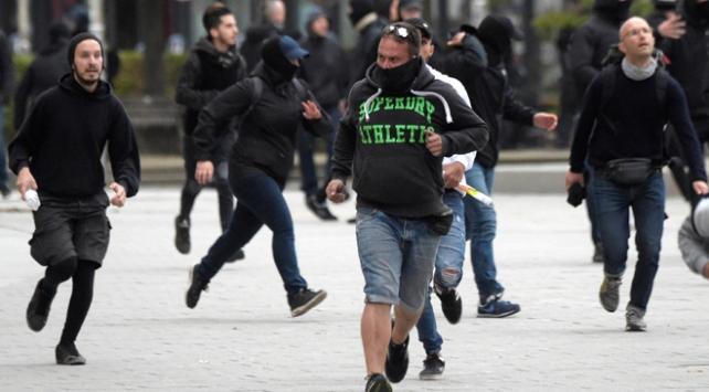 Almanyada maskeli 100 kişinin yabancı avına çıktığı iddia edildi