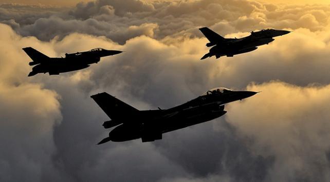 Irakın kuzeyine hava harekatı: 4 terörist etkisiz hale getirildi