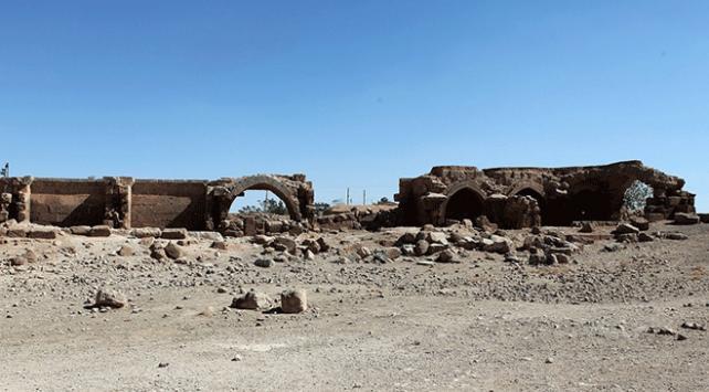 Şanlıurfadaki Han el-Barur Kervansarayında restorasyon çalışmaları başladı