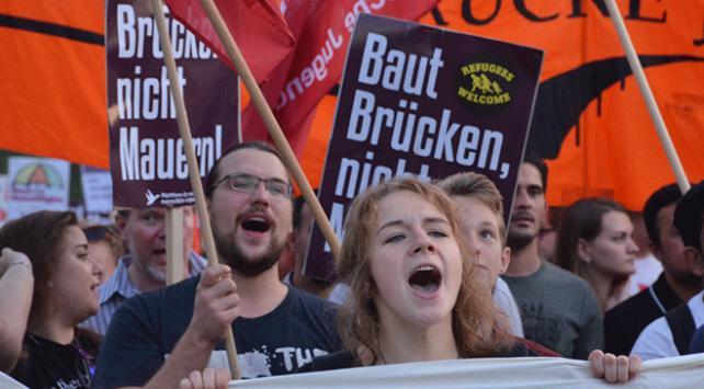 Avusturyada Avrupa Birliğinin Göç politikaları protesto edildi