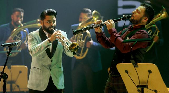 İsmail Lumanovski ve Dzambo Agusev Orkestrası İstanbulda konser verdi