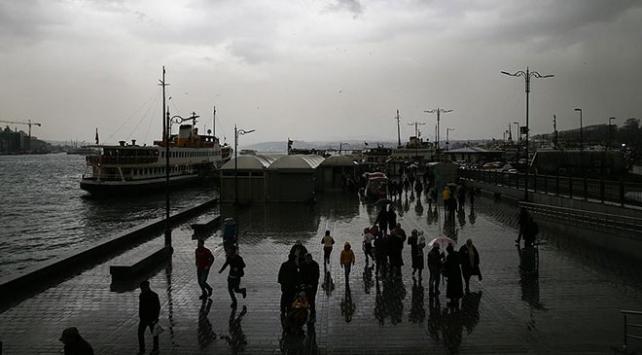 Marmarada gök gürültülü sağanak bekleniyor