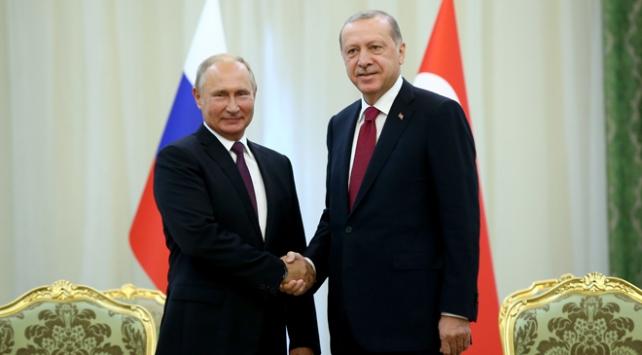 Cumhurbaşkanı Erdoğan Putinle görüşecek