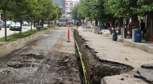 Diyarbakırda 4 ilçe doğalgaza kavuşuyor