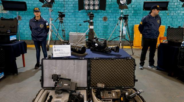 Arjantinde 3 milyon dolarlık çalıntı film ekipmanı ele geçirildi