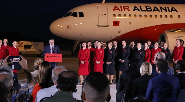 Arnavutluk havayolu şirketi Air Albaniaya kavuştu