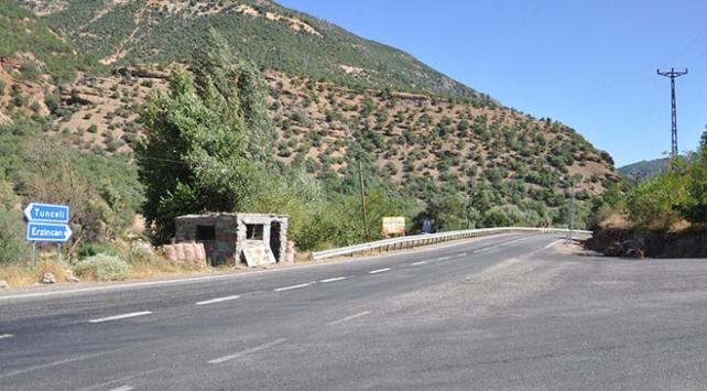 """Tuncelide 31 alan """"özel güvenlik bölgesi"""" ilan edildi"""