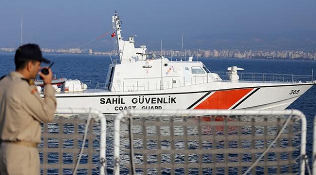 Sahil Güvenlik düzensiz göçe geçit vermiyor: 548 kişi yakalandı