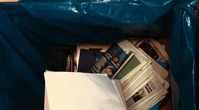 Atık kağıtların geri dönüşümü için çağrı