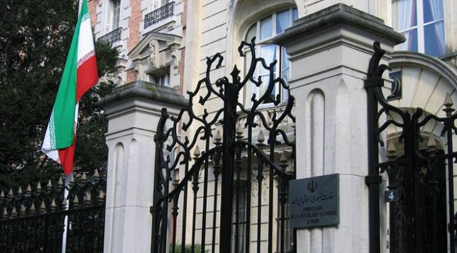 İranın Paris Büyükelçiliğine saldırı düzenlendi