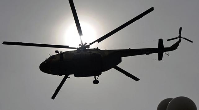 Afganistanda askeri helikopter düştü: 5 ölü