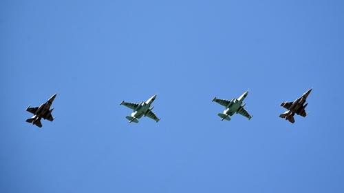 Türkiye ve Azerbaycan uçakları semada buluştu