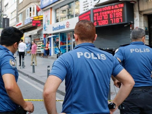 İstanbul Şişlide döviz bürosu soyuldu