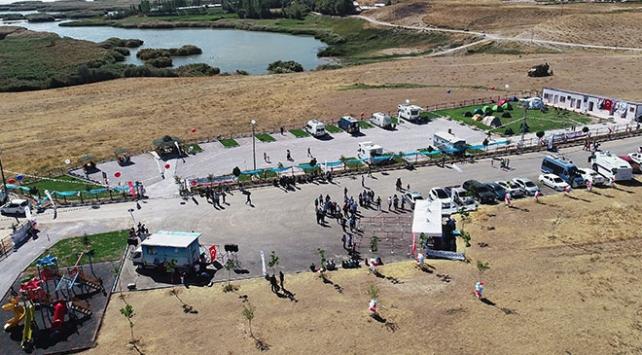 """Van Edremitte """"Kamp ve Karavan Merkezi"""" açıldı"""