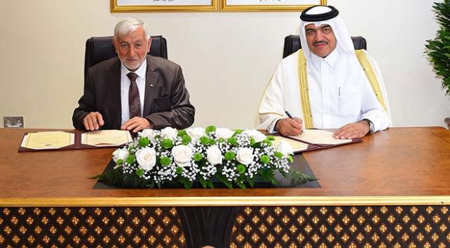 Katar ve Filistin arasında iş birliği anlaşması