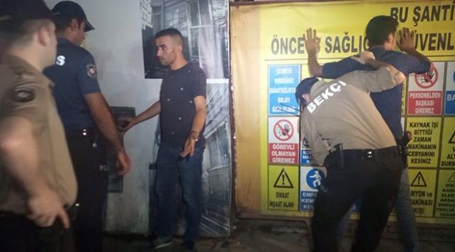 İstanbul Fatihte asayiş uygulaması