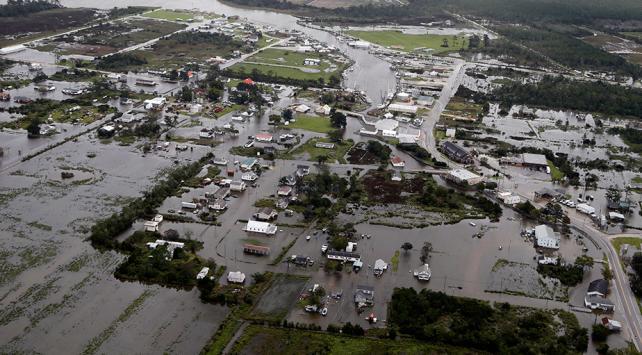 Florence kasırgasında hayatını kaybedenlerin sayısı 14e yükseldi