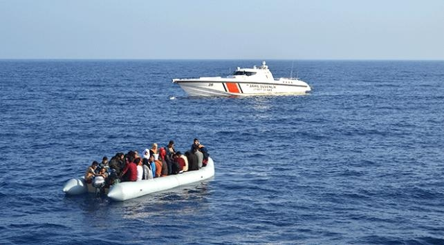 Çanakkalede 85 göçmen yakalandı