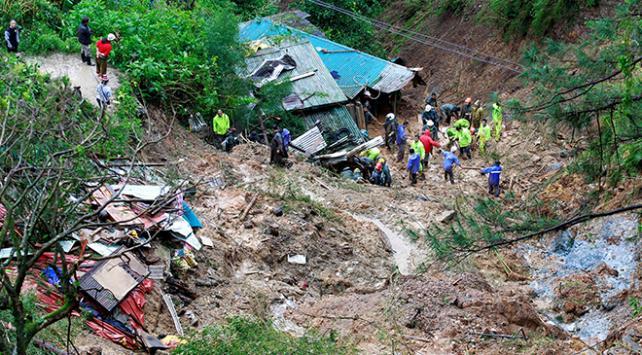 Filipinlerde heyelan: 30 ölü
