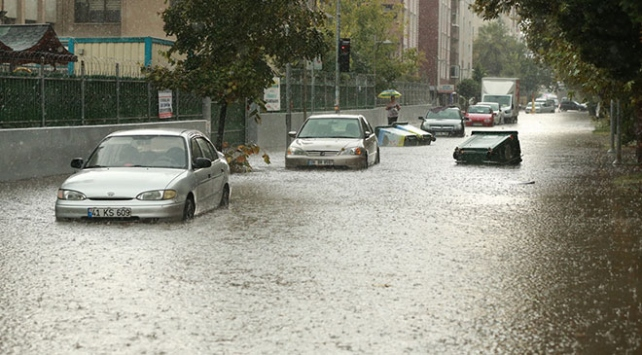 Kocaelide şiddetli yağış
