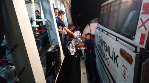 Sahil Güvenlik ekipleri 16 göçmeni kurtardı