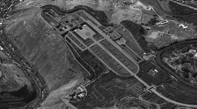 İsrail Esedin sarayının uydudan çekilmiş fotoğrafını yayınladı