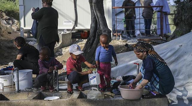 """""""Yunanistanda sığınmacı çocuklar cinsel şiddete maruz kalıyor"""""""