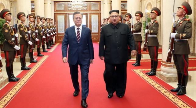 Güney Kore lideri Kuzey Korede