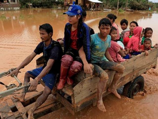 Laosu tropikal fırtınalar vurdu: 55 ölü, 100 kayıp