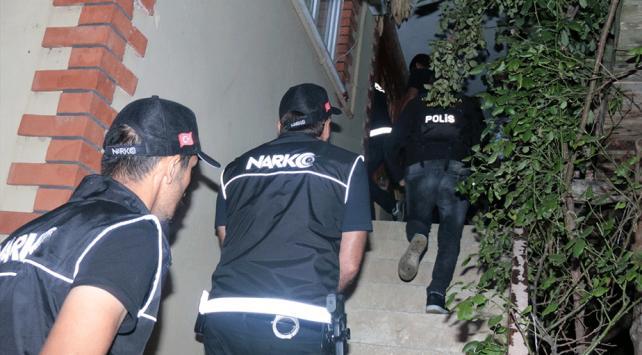 Beykozda uyuşturucu operasyonu: 8 gözaltı